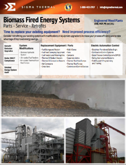 Biomass Fired Energy Systems